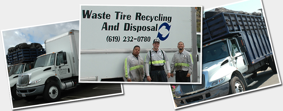 waste tire removal and tire recycling